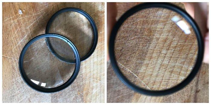 Polaroid Close Up lenses