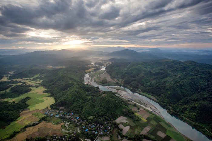 A stunning aerial landscape - travel photography accessories