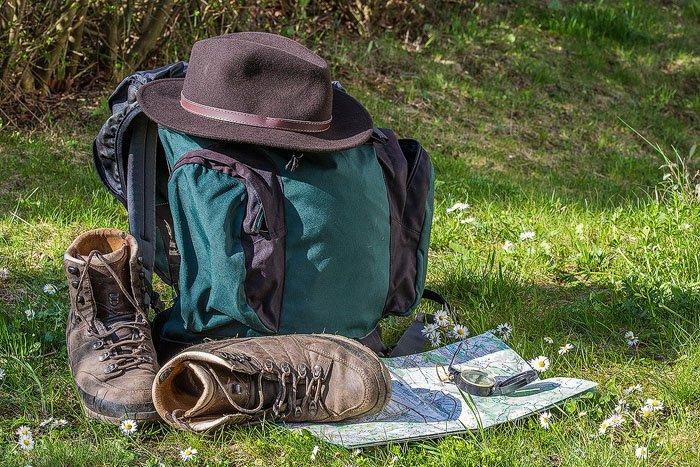 clothing landscape hiking