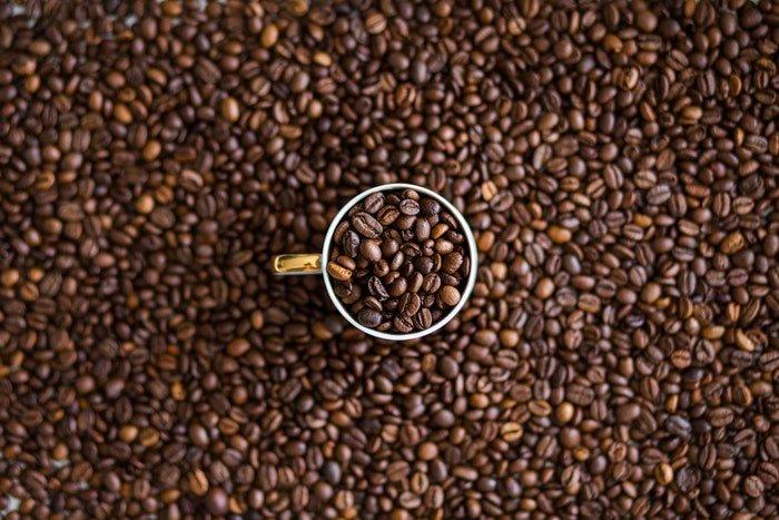 Creative coffee photography