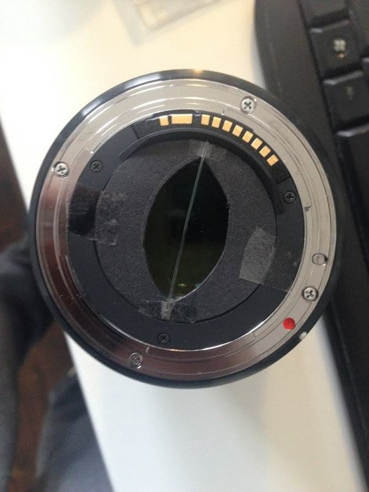 Fishing wire and a hole in cardboard is a great DIY photography filter