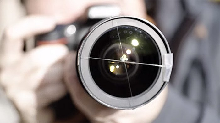 DIY photography filters such as this add lens flares to your images