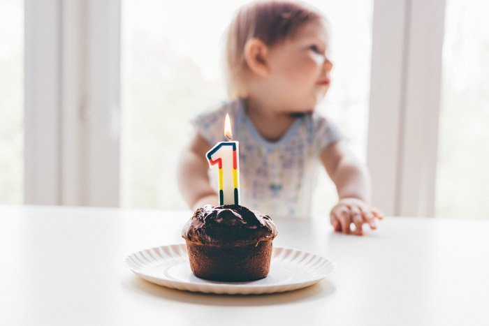 A baby plan celebrating its first birthday