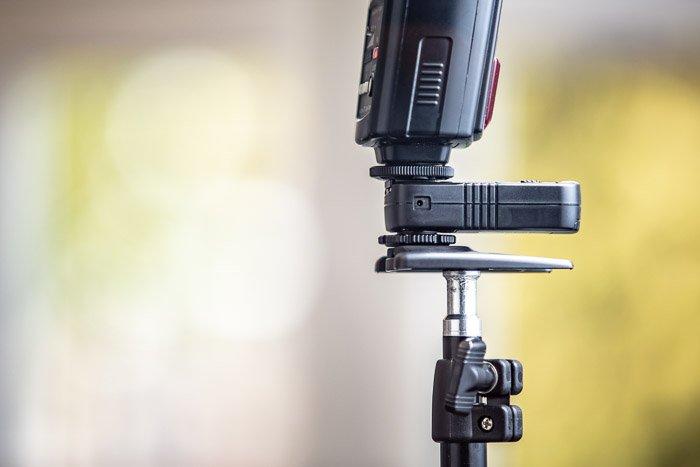 Photo of an external flash