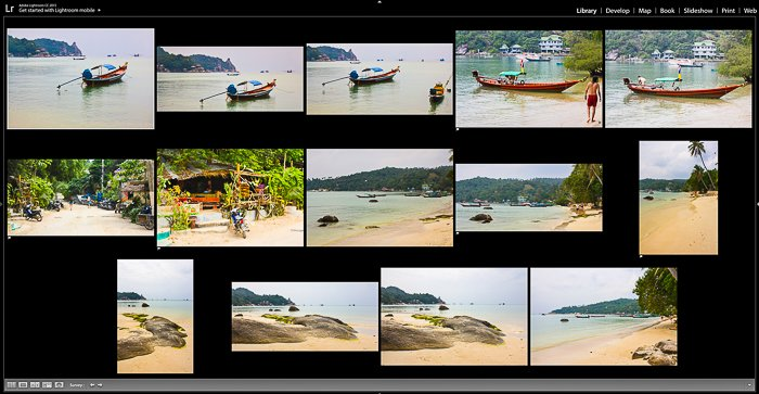 Screenshot of a photo editing program - Sell Your Travel Photography