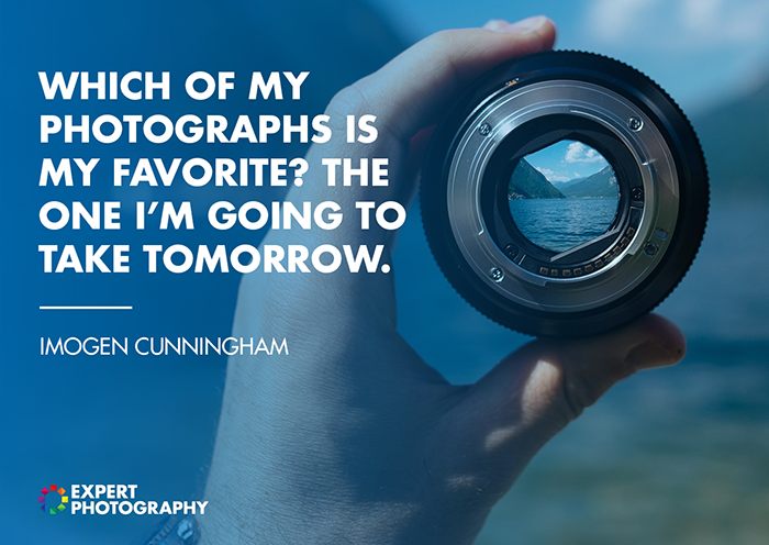 Photography Quote by Imogen Cunningham