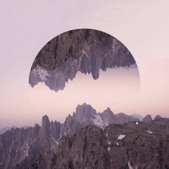 Fine art photography, manipulated rocky landscape by Victoria Siemer.