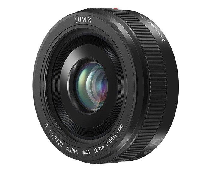 Image of a Panasonic20mm f/1.7 II lens for Panasonic gh5 camera
