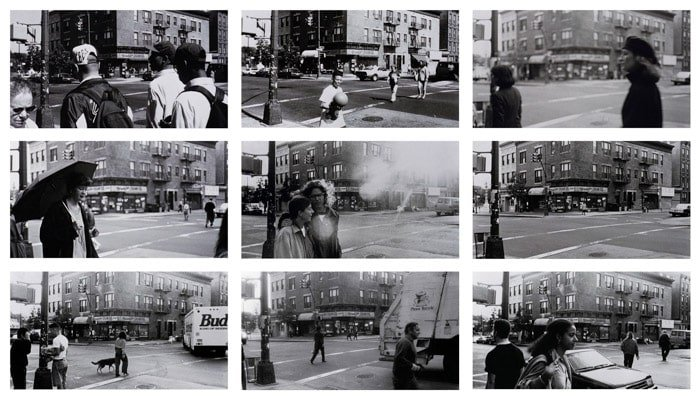 A photo essay example photography grid of 9 photographs.