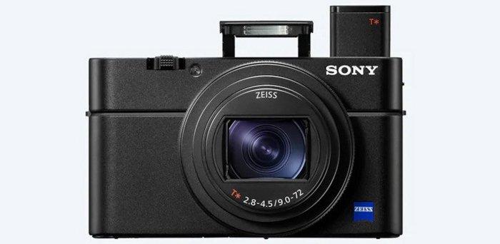 The Sony RX100 MK VII