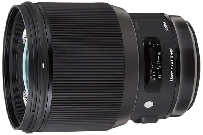 A prime lens for wedding photography