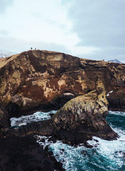 Impressive mountainous seascape