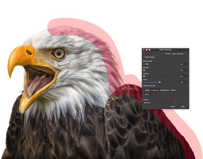 Screenshot of using Affinity Pro photo editing software - Lightroom vs Affinity Pro
