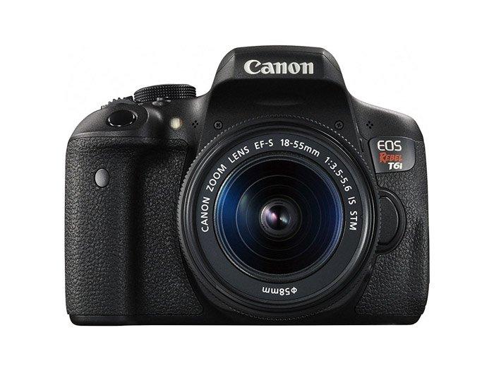 Canon EOS Rebel T6i is a good macro camera choice