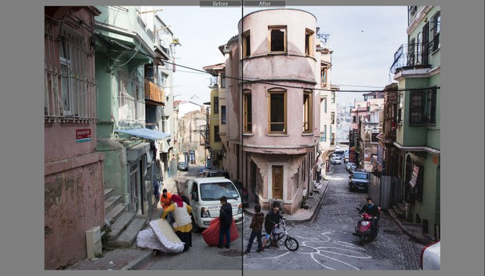 HDR Effect (Beart) best lightroom presets for street photography