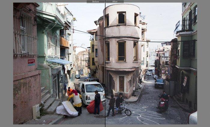 Film Matte (Beart) best lightroom presets for street photography