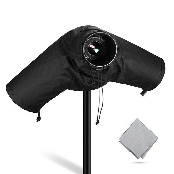 Image of a waterproof Camera Rain Cover photography gift