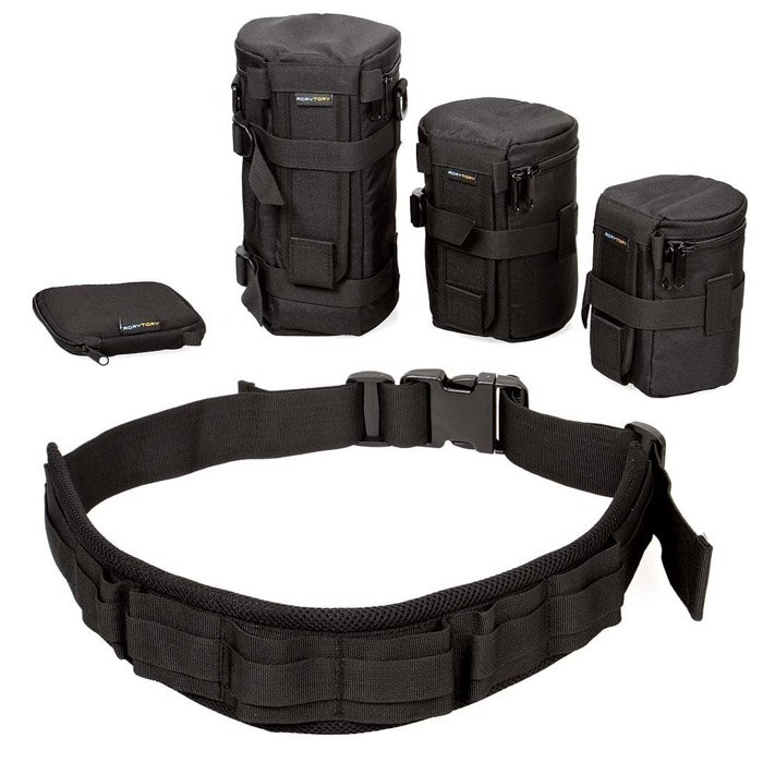Image of a Photo Belt Storage System camera accessories for travel photography
