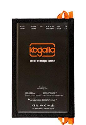 The Kogalla solar panel and battery is the perfect photography gift. Kogalla SSB2210 Solar Storage Bank camera accessories