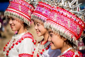 Break the Rules of Photography Composition for Creative Results Hmong Girls by Kevin Landwer-Johan