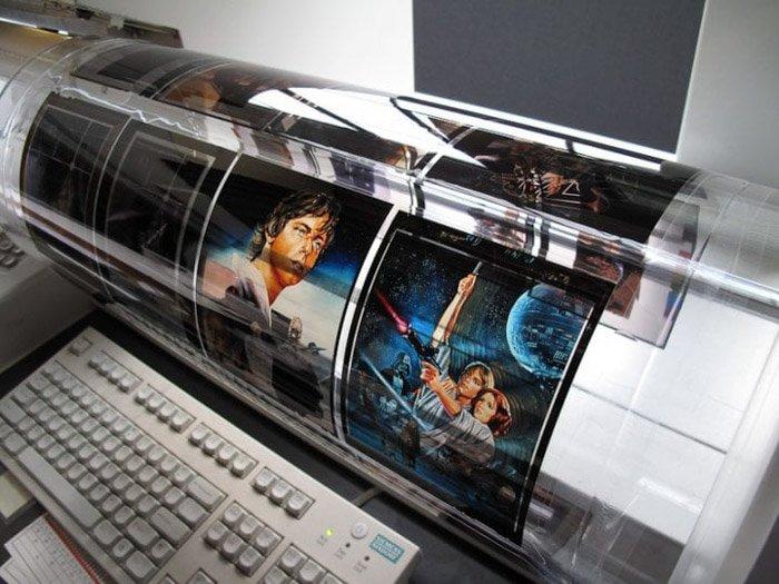 A photo scanning machine for digitizing film photos