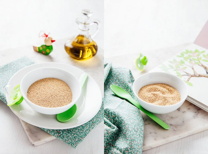 tiny tummies product photography diptych by darina kopcok using green product photography props