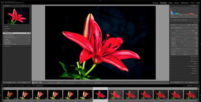 Screenshot of how to make a time-lapse in Photoshop