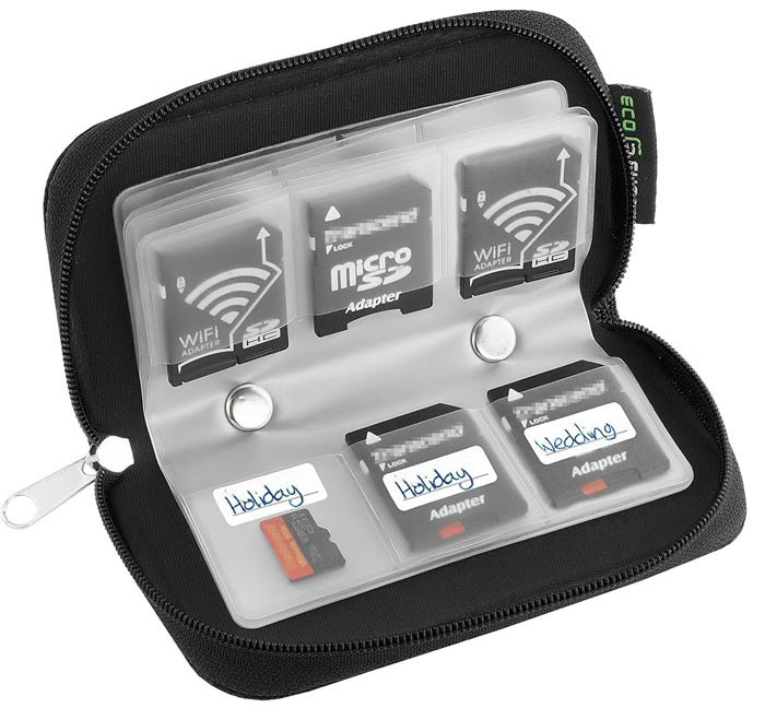 Image of the Eco-FusedMemory Card Carrying Case