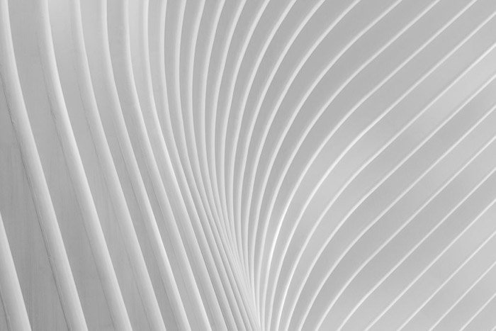 Fine Art Architecture photography shot of the Oculus building in New York, USA