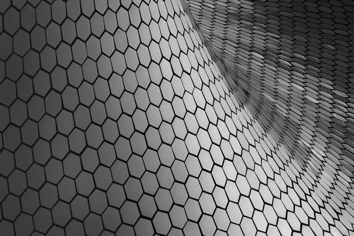Fine Art Architecture Photography: Museo Soumaya. Mexico City, Mexico
