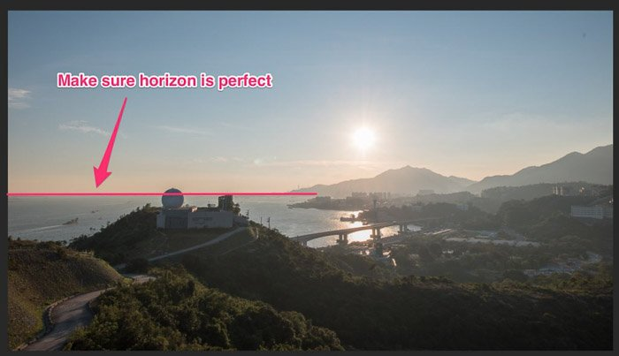 A screenshot showing how to crop a picture in Lightroom