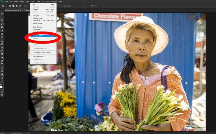 How to Make a Pure White Background in Photoshop Original Background © Kevin Landwer-Johan