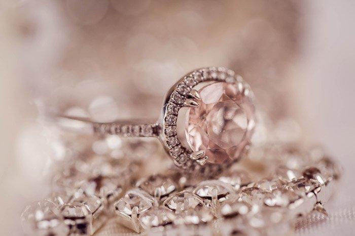 beautiful product photo of a diamond ring