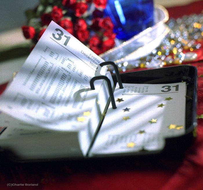A still life photo of a calendar diary