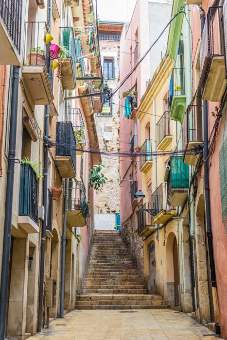 A colorful city street view - understand autofocus mode