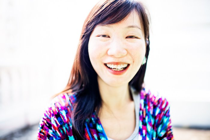 How to Do High Key Photography Pretty Chinese Woman © Kevin Landwer-Johan