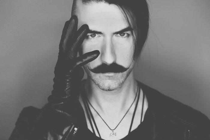 A black and white portrait of a male model - photo shoot shot list