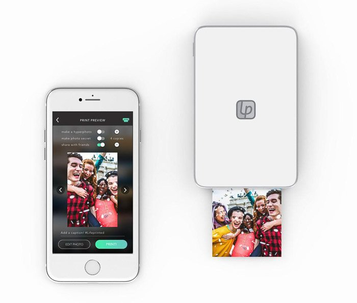 Image of the Lifeprint 3 x 4.5 Photo and Video Printer for iPhone
