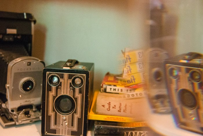 A dreamy still life shot using a sandwich bag for DIY photography tricks