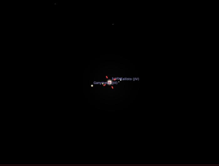 Jupiter seen with a Skymax 90/1250 on MFT camera