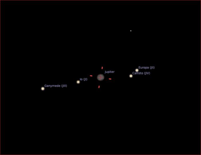 "Jupiter seen with the Skymax 90/1250 and ZWO ASI 224MC camera (1/3"" sensor type)."
