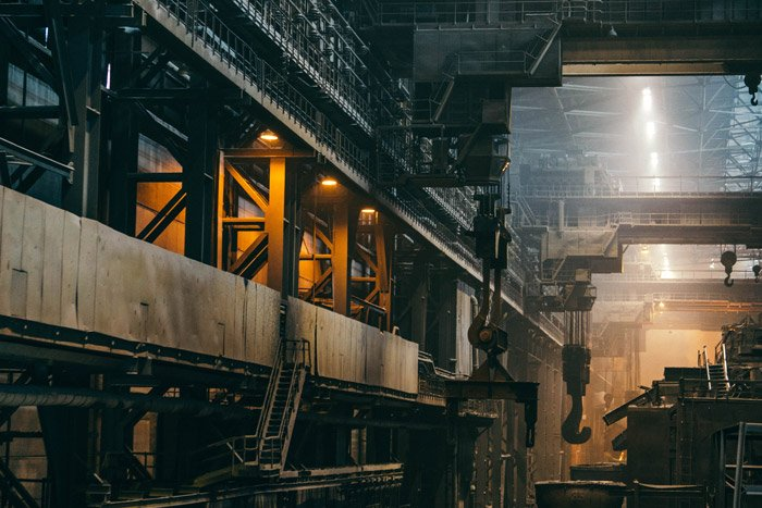Stunning interior industrial photography