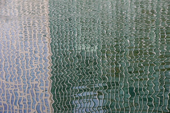Abstract photo of water