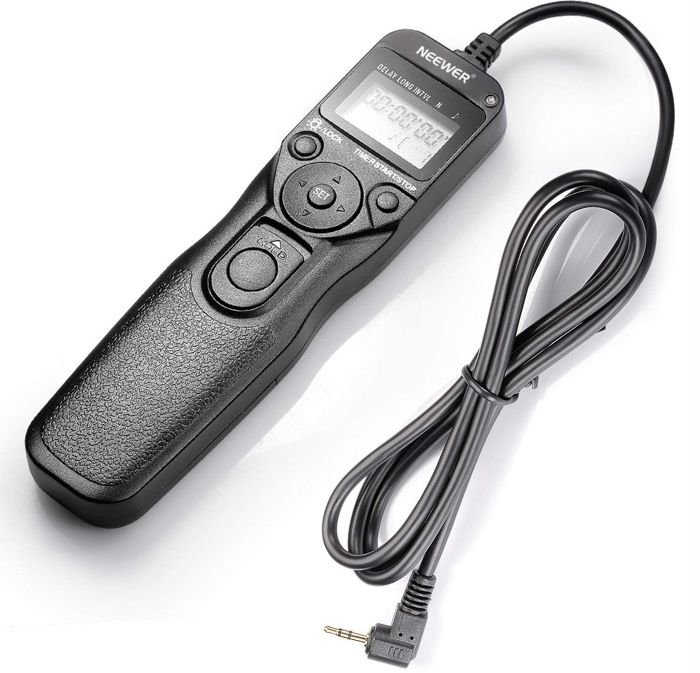 Canon IntervalometerNeewer LCD Timer Shutter Release Remote