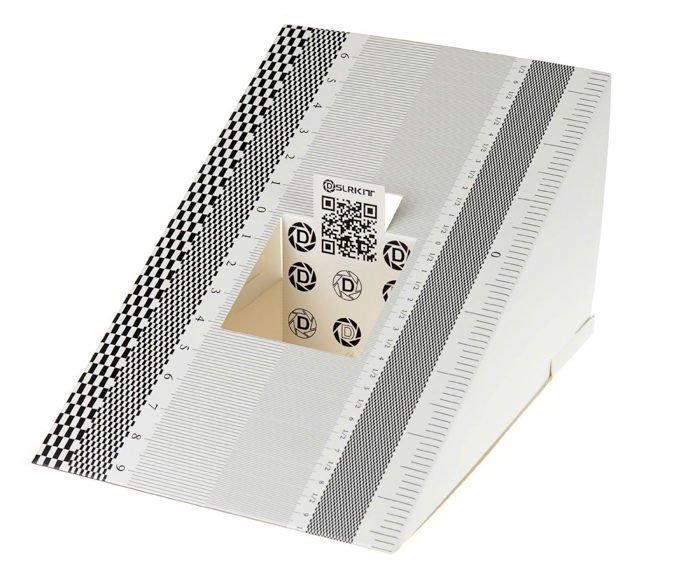 A DSLRKIT lens calibration chart