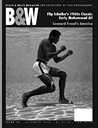 The cover of 'b&w' one of the best photography magazines