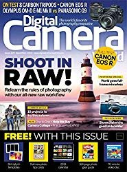 The front cover of Digital Camera, cool photography magazines