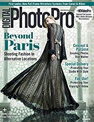 The cover of Digital Photo Pro photography magazines