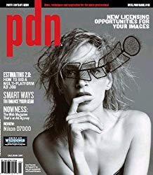The front cover of pdn magazines