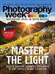 The front cover of photography week magazine